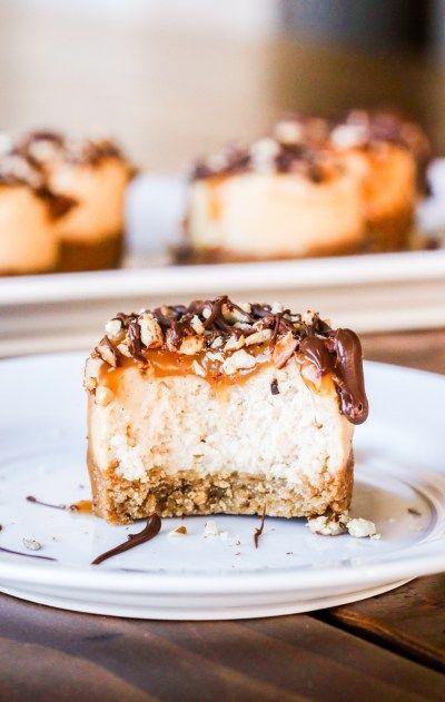 Mini Turtle Cheesecakes Gluten Free Option Gluten Free
