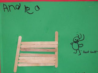 Use Popsicle Sticks to make bridges for the goats. - Learning and Teaching With Preschoolers: Three Billy Goats Gruff