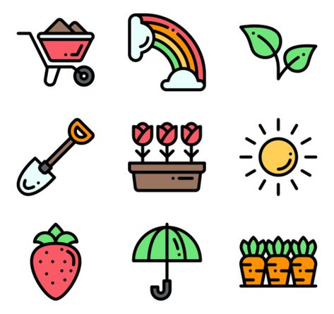 Spring Icon | Free Pack