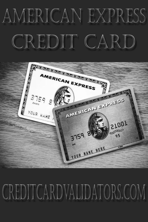 Free Online American express Credit card Number Generators