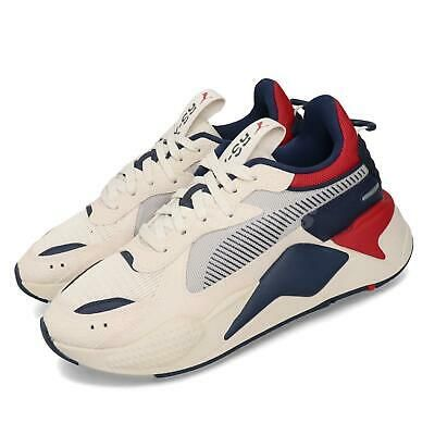 Details about Puma RS-X Hard Drive Run System Beige Navy Red ...