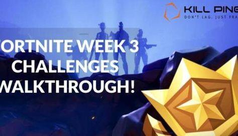 Fortnite Walkthrough: Season 4 Week 3 Challenges Guide: Since the