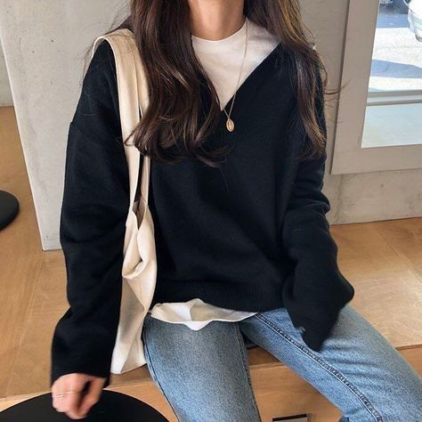"Jan 2020 - ""Summer to Fall transition outfit inspo"" Mode Outfits, Korean Outfits, Fall Outfits, Casual Outfits, Fashion Outfits, Fashion Clothes, Dress Outfits, Fashion Ideas, Summer Outfits"