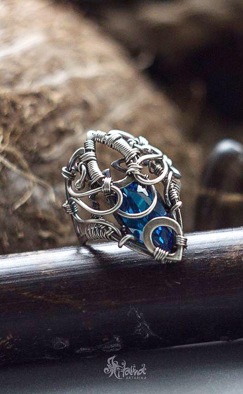 20 besten Rings Bilder auf Pinterest | Chainmaille, Draht Handwerk ...
