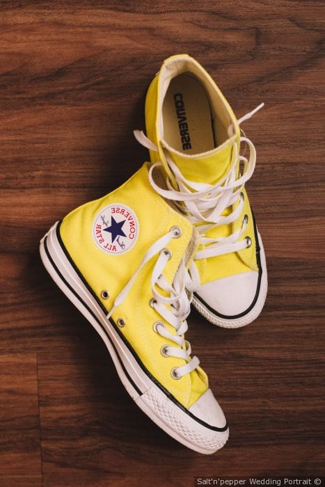 converse basse gialle donna