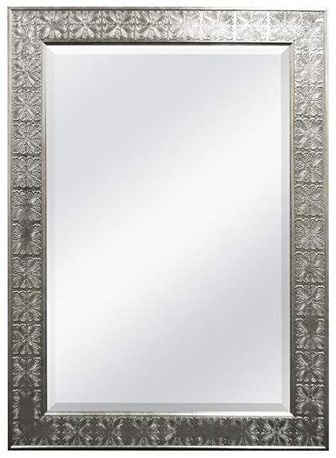 Chapman 24 X 36 Ash Grey Wood Rectangular Wall Mirror 78p05 Lamps Plus In 2021 Mirror Wall Grey Wood Mirror