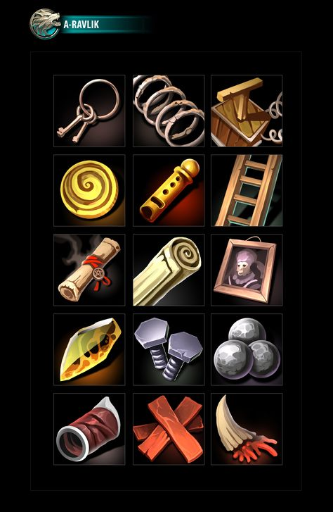 RPG Loot Icons 09
