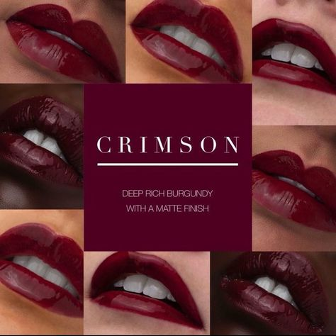 NEW Limited Edition CRIMSON Lipsense  Hot damn this is pretty and you need it! DM me to grab yours!  . . . . #lipsense #newcolor #crimson #senegence #lips #lipstick #makeup #kiss #smudgeproof #longlasting #vegan #crueltyfreemakeup #boston #worcester #redlips #beauty #friday