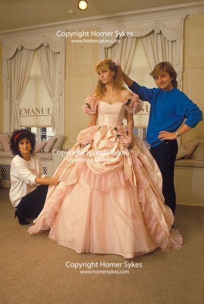 David And Elizabeth Emanuel 1980s England Fashion Designers Wedding Dress Couture Fashion England Fashion
