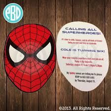 Spiderman Birthday Party The Party Wall Spiderman Birthday Party