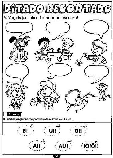 Pin De Raquel Zanatta Em Vogais Atividades De Alfabetizacao