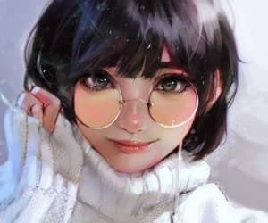 Anime On We Heart It Digital Art Anime Digital Art Girl Realistic Art