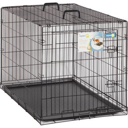 Aspen Pet Wire Home Training Dog Kennel Walmart Com Aspen Pet Wire Home Training Dog Kennel Black Aspen Dog Kennel Wire Dog Kennel Portable Dog Kennels