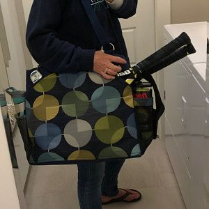 New Tennis Bag Design With A Little Bling Small Accessory Etsy Small Accessory Bag Tennis Bag Bags Designer