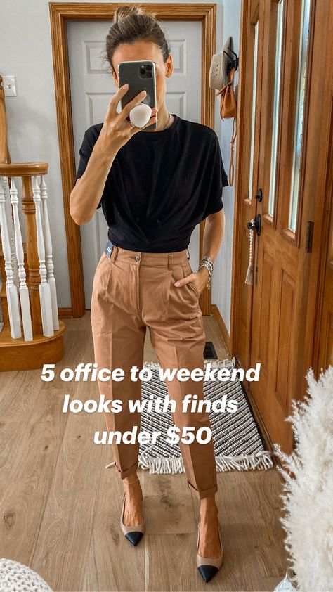 5 office to weekend  looks with finds  under $50