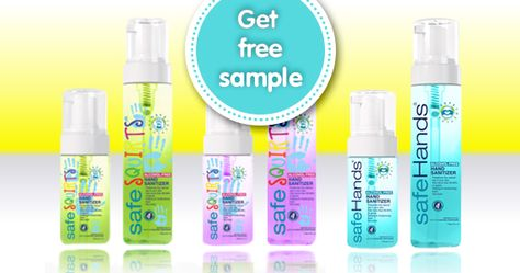 Free Sample Of Safehands Hand Sanitizer Free Samples Hand Sanitizer