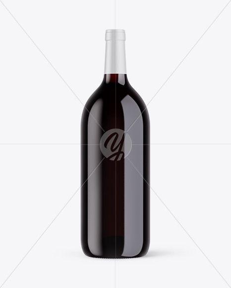 Download 1 5l Red Wine Bottle Mockup Psd Red Wine Bottle Bottle