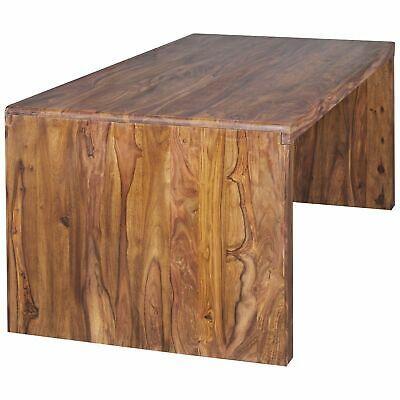 Finebuy Schreibtisch Massiv Holz Sheesham Computertisch Echtholz