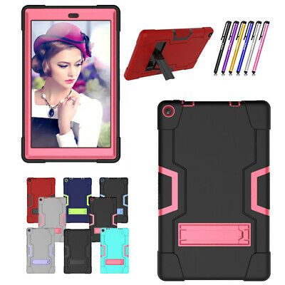 Case For Amazon Fire Hd 10 Tablet 10 1 Inch 7th 9th Gen Rugged Anti Impact Cover In 2020 Fire Hd 10 Tablet 10 Kindle Fire Tablet