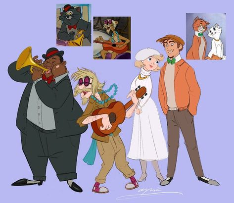 Disney 'Humanimalized': Animal Characters Turned Into Humans And Humans Into Animals (20 Pics)