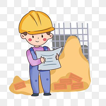 Cartoon Modern Worker Looking At Engineering Drawing Png Material Cartoon Cartoon Modern Worker Worker Png Transparent Clipart Image And Psd File For Free Do Vector Illustration People Print Stickers Cartoon