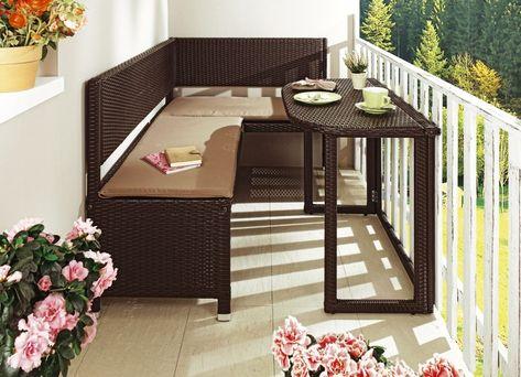 Balkonmobel Serie Verschiedene Ausfuhrungen Kleines Balkon Dekor