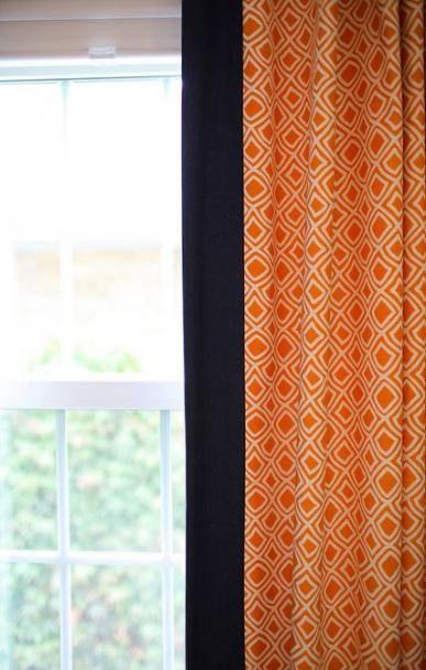 Bedroom Blue Orange Curtains 59 Ideas Orange Curtains Curtains Living Room Bedroom Orange