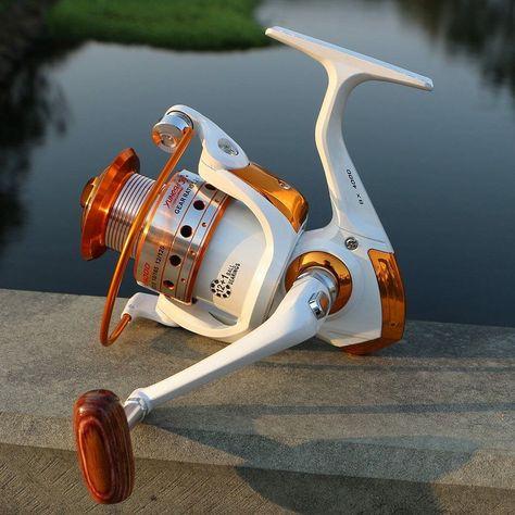 Sport Fishing Spinning Reel 12BB 1 Bearing Balls 1000-9000 Series Metal Coil