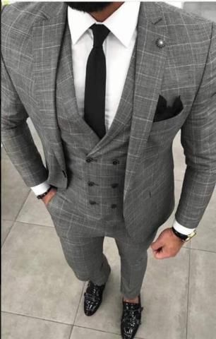 3 Piece Suits 2020 Men Suits Suits Men Business Grey Suit Men Designer Suits For Men