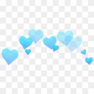 Sticker Stickers Edit Edits Png Head Face Pic Heart Crown Png Blue Transparent Png In 2021 Pink Heart Emoji Crown Png Blue Emoji