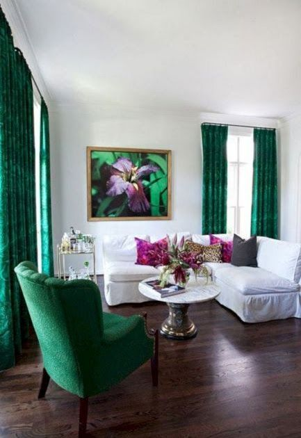 Emerald Green And White Living Room Decor Emerald Green And Emerald Green Couch The Couch Trend In 2020 Living Room White Living Room Green Emerald Green Living Room
