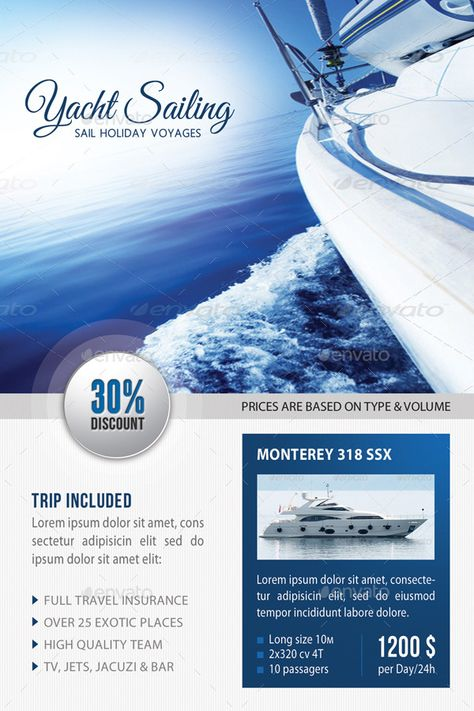 3 Sailing Yacht Travel Table Tent Bundle