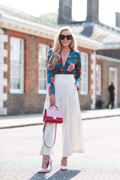 Street Style At The 2018 Chelsea Flower Show - Sloane Street -