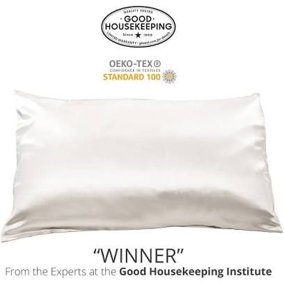 These Silk Pillowcases Prevent Bedhead And Wrinkles While You Sleep Silk Pillowcase Good Housekeeping Peanut Butter Fingers
