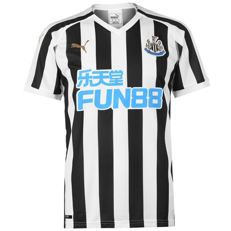 super popular 87324 7f9ca 18-19 Newcastle United Home Black&White Soccer Jersey Shirt ...