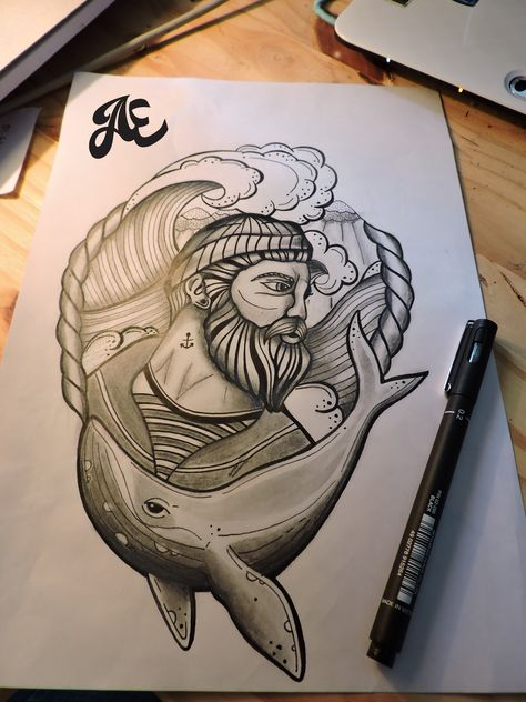 Sketch Style Griffin done by Ael Lim (Invisblea) at