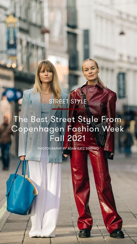 The Best Street Style From Copenhagen Fashion Week, Fall 2021