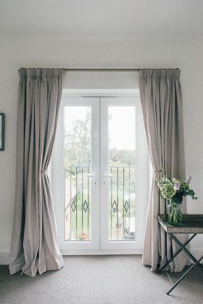 A Guide To Hanging Curtains With Laura Ashley Rock My Style Uk Daily Lifestyle Blog In 2020 French Doors Bedroom Balcony Curtains Curtains Living Room