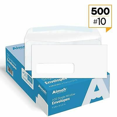 Ad Ebay 10 Single Left Window Envelopes Gummed Closure Size 4 1 8 X 9 1 2 Inches 24 In 2020 Window Envelopes Security Envelopes Business Envelopes