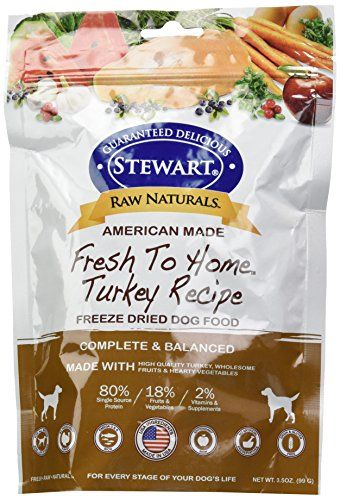 Stewart 402763 Turkey Raw Naturals Freeze Dried Dog Food 375 Oz Click Image For More Details This Is Freeze Dried Dog Food Dog Food Recipes Dry Dog Food
