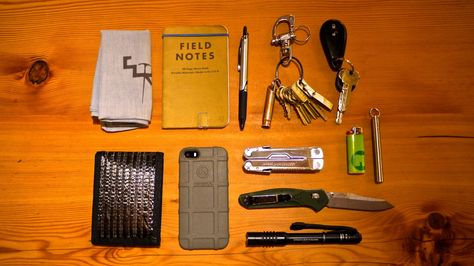 Ems Bandana Field Notes Pilot Precise V5 Rt Keys Tweezers