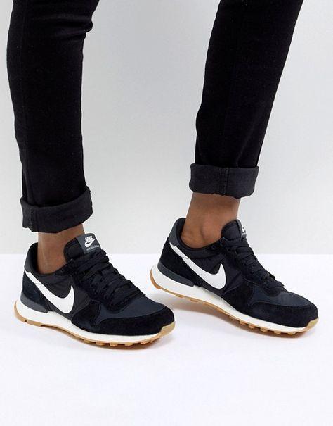 Nike WMNS Internationalist (gray pink) 43einhalb Fulda