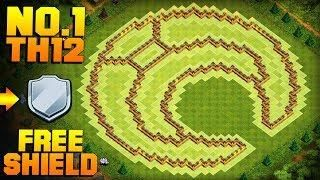 MOST EPIC TH12 FARMING BASE + PROOF! | Moon | CoC Town Hall