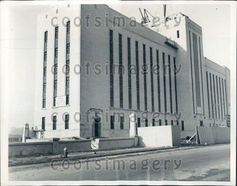 Details about 1937 Bronx County Jail NYC Under Construction Press Photo
