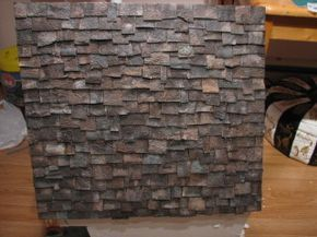Life In Miniature Making Aged Slate Roof Shingles Roof Shingles Slate Roof Slate Roof Shingles