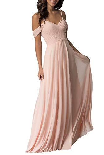 Miao Duo A Line Spaghetti Straps Bridesmaid Dress Peach C Https