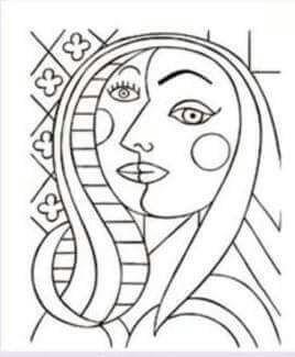 7632261c4c216164876b6612372a9ff3 Jpg 268 325 Arte De Picasso Obras De Arte Ninos Proyectos De Arte