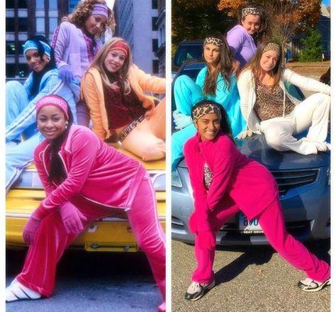 Halloween cheetah girls