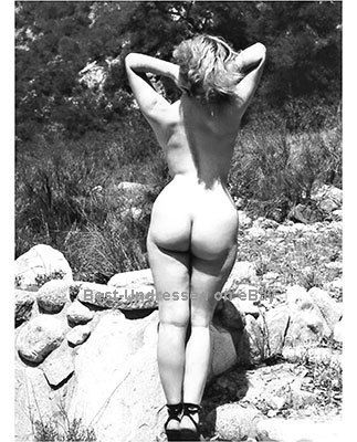 nude ass Vintage woman