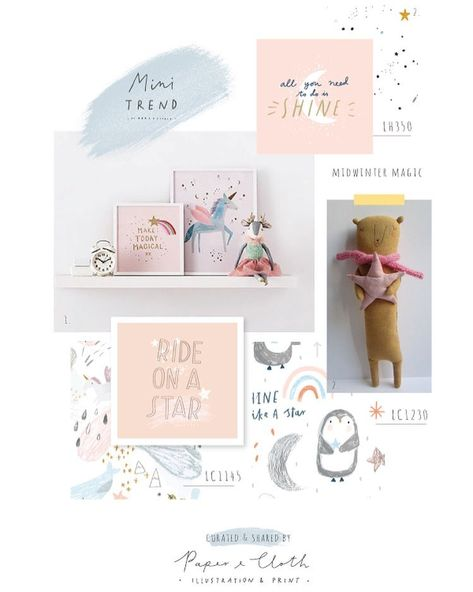 """326 To se mi líbí, 1 komentářů – Paper & Cloth Design Studio (@paperandcloth_design_studio) na Instagramu: """"Even on super cold winter days, rainbows and unicorns can make everything better! 🌟  This trend is…"""""""